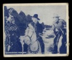 1950 Topps Hopalong Cassidy #23   What's ahead Front Thumbnail