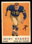 1959 Topps #116  Jerry Kramer  Front Thumbnail