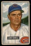 1951 Bowman #322  Luke Sewell  Front Thumbnail