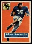 1956 Topps #12  Alan Ameche  Front Thumbnail