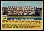 1956 Topps #45   Browns Team Front Thumbnail