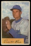 1954 Bowman #218 xINK Preacher Roe  Front Thumbnail