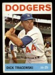 1964 Topps #154  Dick Tracewski  Front Thumbnail