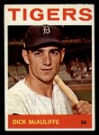 1964 Topps #363  Dick McAuliffe  Front Thumbnail