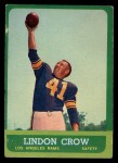 1963 Topps #45  Lindon Crow  Front Thumbnail