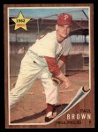 1962 Topps #181 NRM Paul Brown  Front Thumbnail