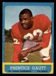 1963 Topps #150  Prentice Gautt  Front Thumbnail