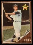 1962 Topps #281  Jake Gibbs  Front Thumbnail