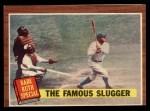 1962 Topps #138 NRM  -  Babe Ruth The Famous Slugger Front Thumbnail