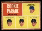 1962 Topps #596   -  Joe Pepitone / Phil Linz / Bernie Allen / Rich Rollins Rookie Parade - Infielders Front Thumbnail
