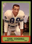 1963 Topps #28  Gail Cogdill  Front Thumbnail
