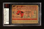 1958 Topps #275  Elston Howard  Back Thumbnail