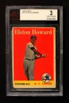 1958 Topps #275  Elston Howard  Front Thumbnail