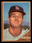1962 Topps #369  Ted Bowsfield  Front Thumbnail