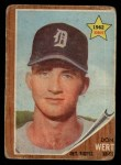 1962 Topps #299  Don Wert  Front Thumbnail