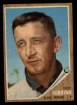 1962 Topps #15  Dick Donovan  Front Thumbnail