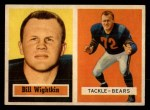 1957 Topps #130  Bill Wightkin  Front Thumbnail