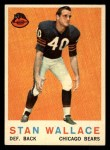 1959 Topps #159  Stan Wallace  Front Thumbnail