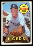 1969 Topps #344  Tom Matchick  Front Thumbnail