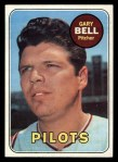 1969 Topps #377  Gary Bell  Front Thumbnail