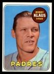 1969 Topps #387  Bobby Klaus  Front Thumbnail