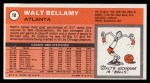 1970 Topps #18  Walt Bellamy   Back Thumbnail