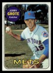 1969 Topps #55  Jerry Grote  Front Thumbnail