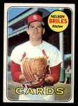 1969 Topps #60  Nelson Briles  Front Thumbnail
