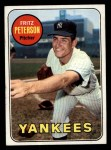 1969 Topps #46  Fritz Peterson  Front Thumbnail