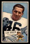 1952 Bowman Small #105  Lou Groza  Front Thumbnail