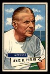 1952 Bowman Small #122  James Phelan  Front Thumbnail