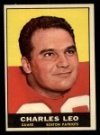 1961 Topps #180  Charles Leo  Front Thumbnail