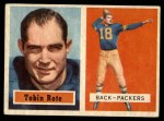 1957 Topps #81  Tobin Rote  Front Thumbnail