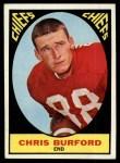 1967 Topps #72  Chris Buford  Front Thumbnail