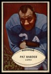 1953 Bowman #81  Pat Harder  Front Thumbnail