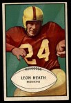 1953 Bowman #63  Leon Heath  Front Thumbnail