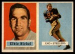 1957 Topps #101  Elbert Nickel  Front Thumbnail