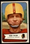 1954 Bowman #73  Hugh Taylor  Front Thumbnail