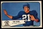 1954 Bowman #72  Tom Keane  Front Thumbnail