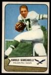 1954 Bowman #33  Harold Hal Giancanelli  Front Thumbnail
