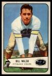 1954 Bowman #96  Bill Walsh  Front Thumbnail