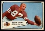 1954 Bowman #101  Gordon Soltau  Front Thumbnail