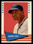 1961 Fleer #146  George Uhle  Front Thumbnail