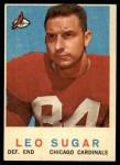 1959 Topps #154  Leo Sugar  Front Thumbnail