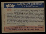 1959 Fleer #9   -  Ted Williams  1st Step to Majors Back Thumbnail
