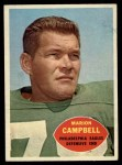 1960 Topps #90  Marion Campbell  Front Thumbnail