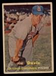 1957 Topps #273  Jim Davis  Front Thumbnail