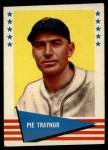 1961 Fleer #144  Pie Traynor  Front Thumbnail
