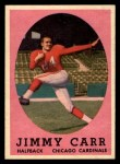 1958 Topps #65  Jimmy Carr  Front Thumbnail