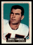 1964 Topps #31  Daryle Lamonica  Front Thumbnail